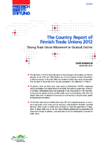 The country report of Finnish trade unions 2012