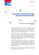 Schweden, Finnland und die deutsche Energiewende