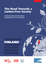 The road towards a carbon-free society - A Nordic-German trade union cooperation on just transition. Finland